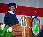 Secretary of state receives honorary Air University degree
