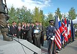Memorial dedication honors American, Russian aviators