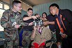 Cope Tiger participants provide humanitarian assistance