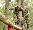 Basic cadets focus on next training obstacle