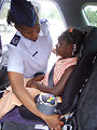 Child development center offers parents car seat guidance
