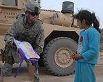 Airmen donate school supplies to local Iraqi children