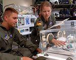 Kadena medics provide lifeline in air