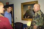 'Treasure Hunters' meet Air Force leaders