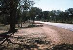 This roadside near the local Rhodesian, now Zimbab