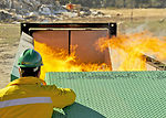 Air burners at Eglin