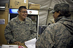 Airman helps troops connect with families during holidays