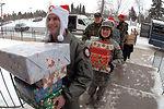 Airmen deliver Christmas
