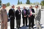 Congressmen visit servicemembers in Manas