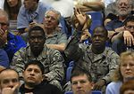 NCAA Final Four recognizes American servicemembers