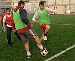 U.S., Romanian airmen break cultural barriers with sports