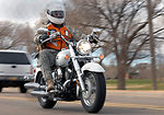 Bikers roll out meals on wheels