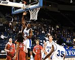 Air Force falls to Brock University, 66-63, in exhibition men's basketball
