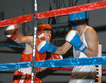 Airmen, Soldiers compete during boxing tourney