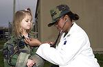 Children experience 'deployment' firsthand