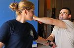 Airmen teach Krav Maga techniques to local law enforcers