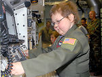 Child becomes first missileer for a day at F.E. Warren