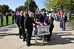 Memorial service for fallen Airman
