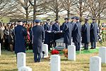 Honor guar lays to rest Airmen killed in Iraq