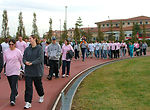 Walk raises awareness of breast cancer