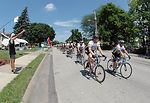 Air Force cycling team wraps up RAGBRAI