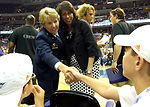 Women's basketball salutes troops, families