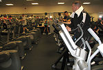 Fitness month focuses on health, social benefits