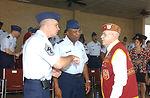 Basic training graduation ceremony focuses on POW/MIA Day