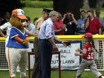 Tee ball on the South Lawn