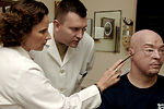 Anaplastologist creates facial parts for wounded