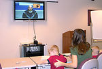 Video teleconferencing connects military families