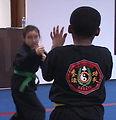 Misawa children get defensive learning kajukenbo