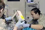Medical team in Southwest Asia