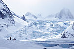 Alpine pararescuemen train for mountain rescues