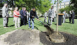 Pentagon officials join Air Force bases for '40 trees in 40 communities' tree planting