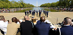 Joint service drill competition held at Lincoln Memorial