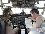 Agency staff provides aeronautical products to military pilots, aviators