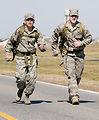 Airmen participate in ruck march