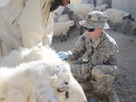 Servicemembers help Afghans