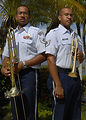 Dynamic Duo: Twin brothers share love of music, Air Force