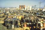 Toxic waste dump, superfund site.
