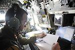 OC-135 crews assist from 15,000 feet