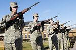 Honor Guard firing party