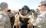 Airmen train Kyrgyz officials on EOD mission