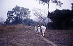 This 1969 photograph showed CDC EIS officers walki