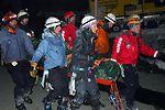 PJs help rescue skier off glacier