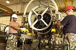 Repairing a FOD-damaged engine