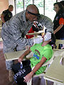 American servicemembers help restore shrine, provide medical care in Philippines
