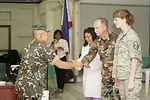 Medics teach mental health classes in Philippines