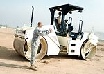 Airmen build up reconstruction yard for drawdown